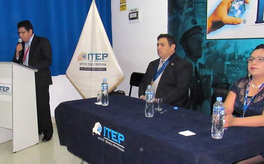 Ceremonia Central por XI Aniversario de ITEP