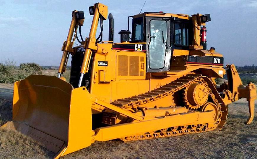 Operación de Tractor de Oruga