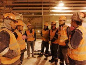 Alumnos ITEP realizan prácticas en minera Southern