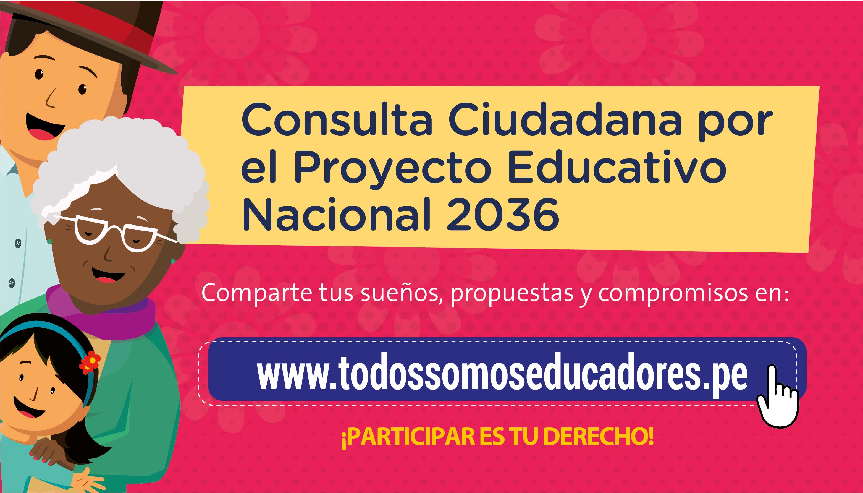 Consulta Ciudadana por el Proyecto Educativo Nacional 2021 – 2036
