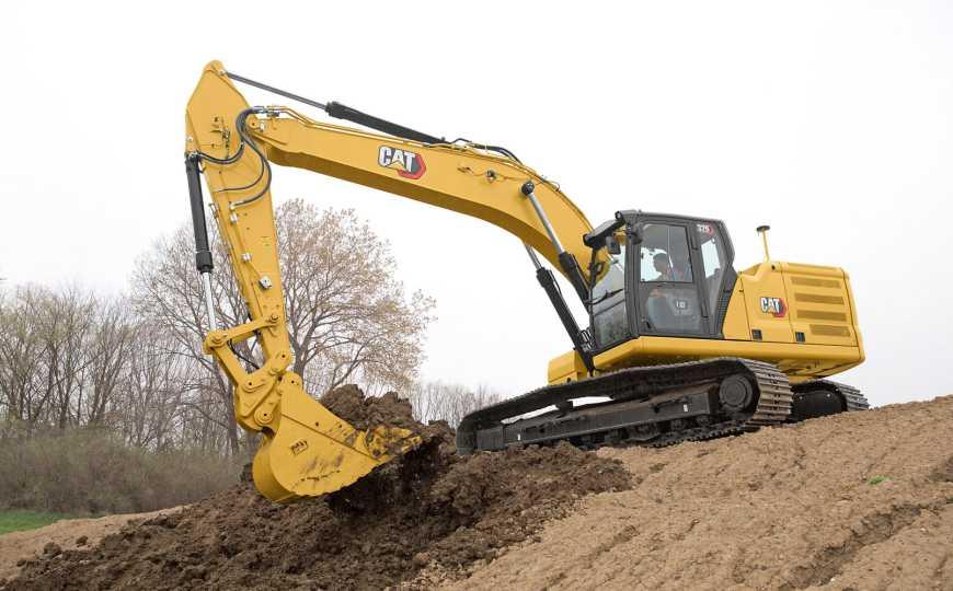 Campos de aplicación, configuración y mantenimiento en Excavadora Hidráulica 336 GC NEXT GEN
